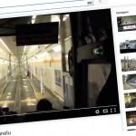 Wjazd do pociągu w Eurotunelu VIDEO