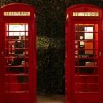 Ikony Wielkiej Brytanii #10 Red telephone boxes